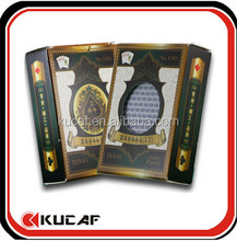 2015 durable plastic playing poker card for sale