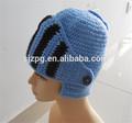 fonte da fábrica de mão crochê chapéu capacete para bebê e crianças e adultos