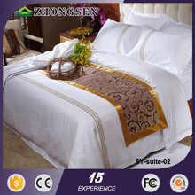 100% cotton 4pcs embroidery fashion bedding design comforter