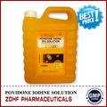 Anti-séptico líquido desinfetantes iodopovidona solution10 para máquinas agrícolas