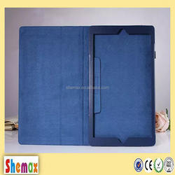 "2015 New arrive 12.9"" window stand leather case for Apple ipad pro"