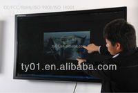 TFT smart board infrared finger-touch screen lcd monitor Large touch screen for sale