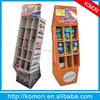 komori cardboard display shelf for supermarket