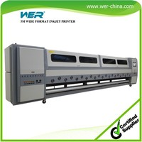 Popular WER heavy duty 5m WER SD 5308 ,banner flex machine