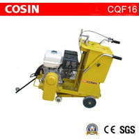 COSIN CQF16 petrol hand saw for cutting concrete road surface