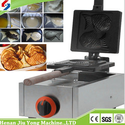 Stainless steel waffle machine gas