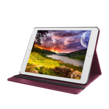 for ipad 6 pu leather printing case, PU Leather Magnetic Smart Cover+ Matte Hard Back cover For IPAD AIR 2