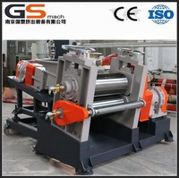 two roller rubber calender machine for rubber sheet