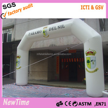 white advertising inflatable arch for promotion