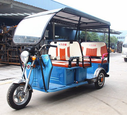 48v 1000w Electric 3 Wheeler for passenger with Roof