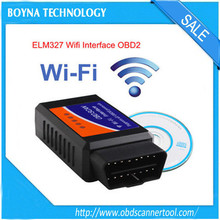 [For iPhone and Android] Universal obd2 elm327 wifi scanner dagnostic tool elm327 wifi interface supports all obdii protocols