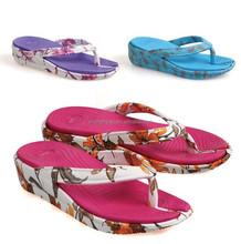 summer nude beach flip flops women wedge flip flop cheap eva flip flops