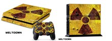 For PS4 Skin Sticker Console Controller
