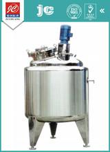 Tipo vertical hermética sanitaria grado recipiente de mezcla recipiente a presión de acero inoxidable