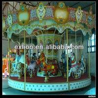 Best sellig amusement park game carousel music box