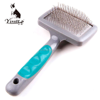Yangzhou yingte high quality pet grooming plastic handle comb and brush