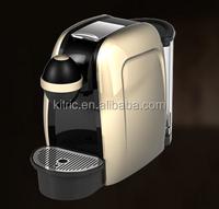 19 bar high pressure automatical capsule coffee maker