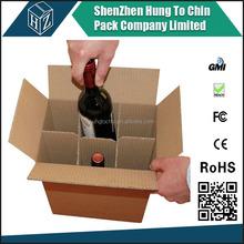 Hot sale cardboard 6 pack bottle beer carriers,cardboard bottle carrier Supplier