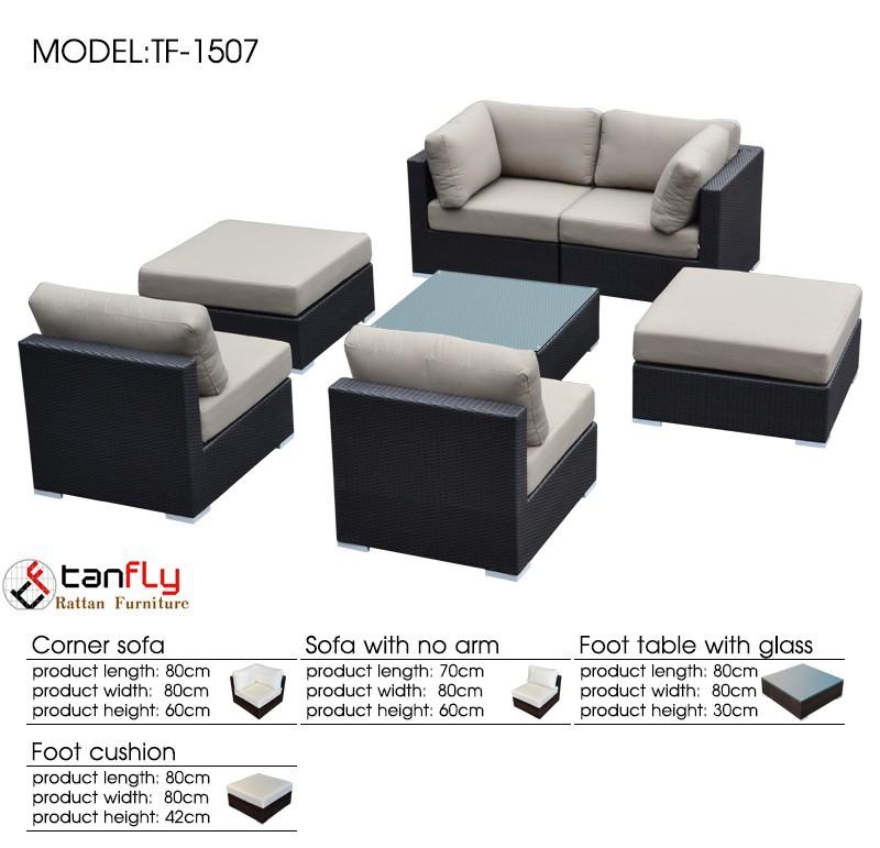 Rattan Luxury Sofa Outdoor Furniture Manufacturer Rattan