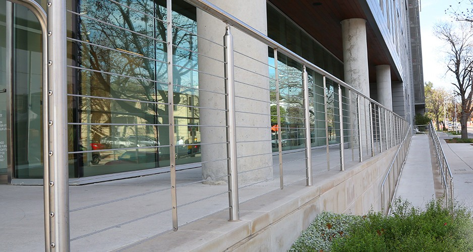 사용자 정의 316 스테인레스 스틸 난간 야외 디자인/발코니 계단 ...