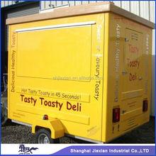 JX-FS210 Fiberglass Outdoor towable Mobile Vending burger van for sale
