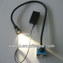 3W led rechargeable emergency light 230v Machine Lamp/table lamp/working lamp
