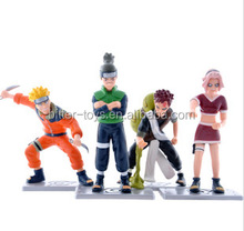 PVC Material and Cartoon Toy,Model Toy Style Naruto action figures