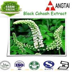 High quality Black Cohosh Extract,Natural Black Cohosh Extract powder/Triterpenoid Saponins 2.5%,5%,8%