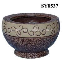 Antique and elegant ceramic palnters and flower pot