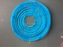 supply of economic and beautiful round shaped fabric lantern for decoration from factory directly