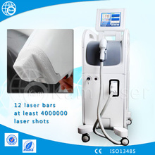 2015 innovative product /diode laser cutting machines/shr ipl permanent hair removal machine with 12 laser bars