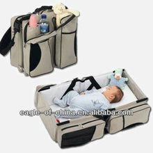 fine quality 840D polyester baby travel cot bag