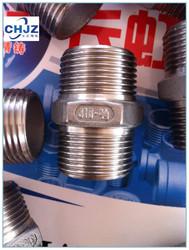 BSPT/BSP/NPT thread Stainless Steel 304 Hex Nipple Direct FACTORY