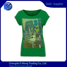 Best Quality Round Neck New Print Fashion Free Size Women T shirt