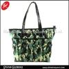 fashion camouflage pu hangbag/custom tote bag/shoulder bag