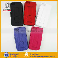 for apple iPhone5 2in1 stand case plastic hard case