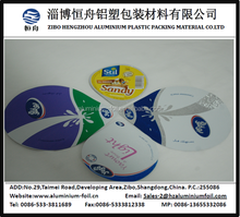 Roll type yoghurt aluminum foil lid for sealing yoghurt cup