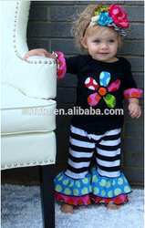 So Cute!Cheap Toddler Girls Fall Winter Sets For Baby Girls Clothing Sets Made In China Western Fashion Kids Outfits.