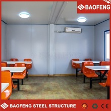 modern comfortable luxury galvanized shanghai container house