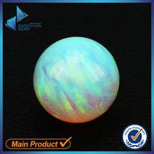 Ball shape round fire opals for sale cheap