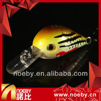 NOEBY fishing gears VMC hook plastic hard crank lure fishing