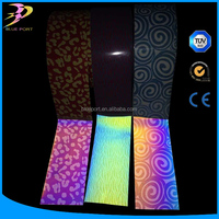 Glow in the dark Full colour t shirt heat transfer printing film(Cut & Print)