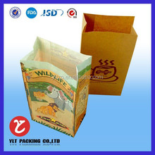 Custom chicken nuggets/french fries paper bag credit card sleeves food