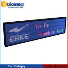 Most beautiful design indoor P5 led electronic sign for Car Park