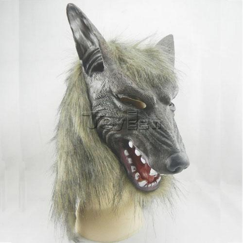 Horror Full Head Wolf Mask for Masquerade Party Halloween Mask Cosplay Mask