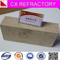 spalling resistant refractory high alumina bricks