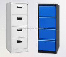 2015 hot selling modern office furniture steel tall cabinet with drawers