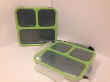 bpa free plastic food storage container with lid