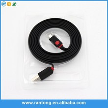 Factory sale OEM design angled micro usb angle cable for sale