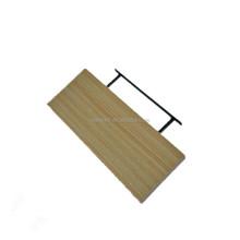 Rectangular Modern Style Hanging Wall Shelf